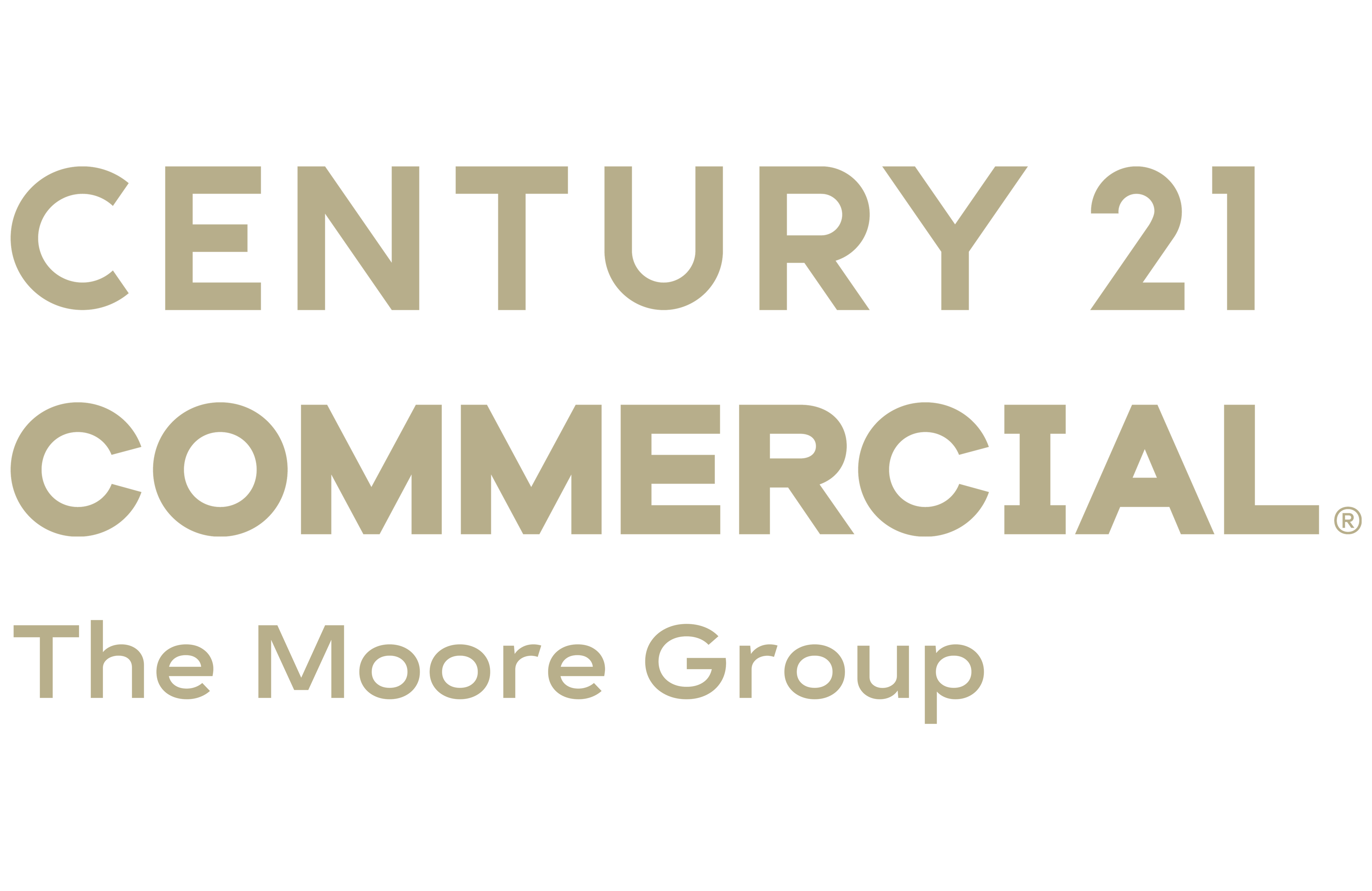 Cal Bruner of CENTURY 21 The Moore Group logo