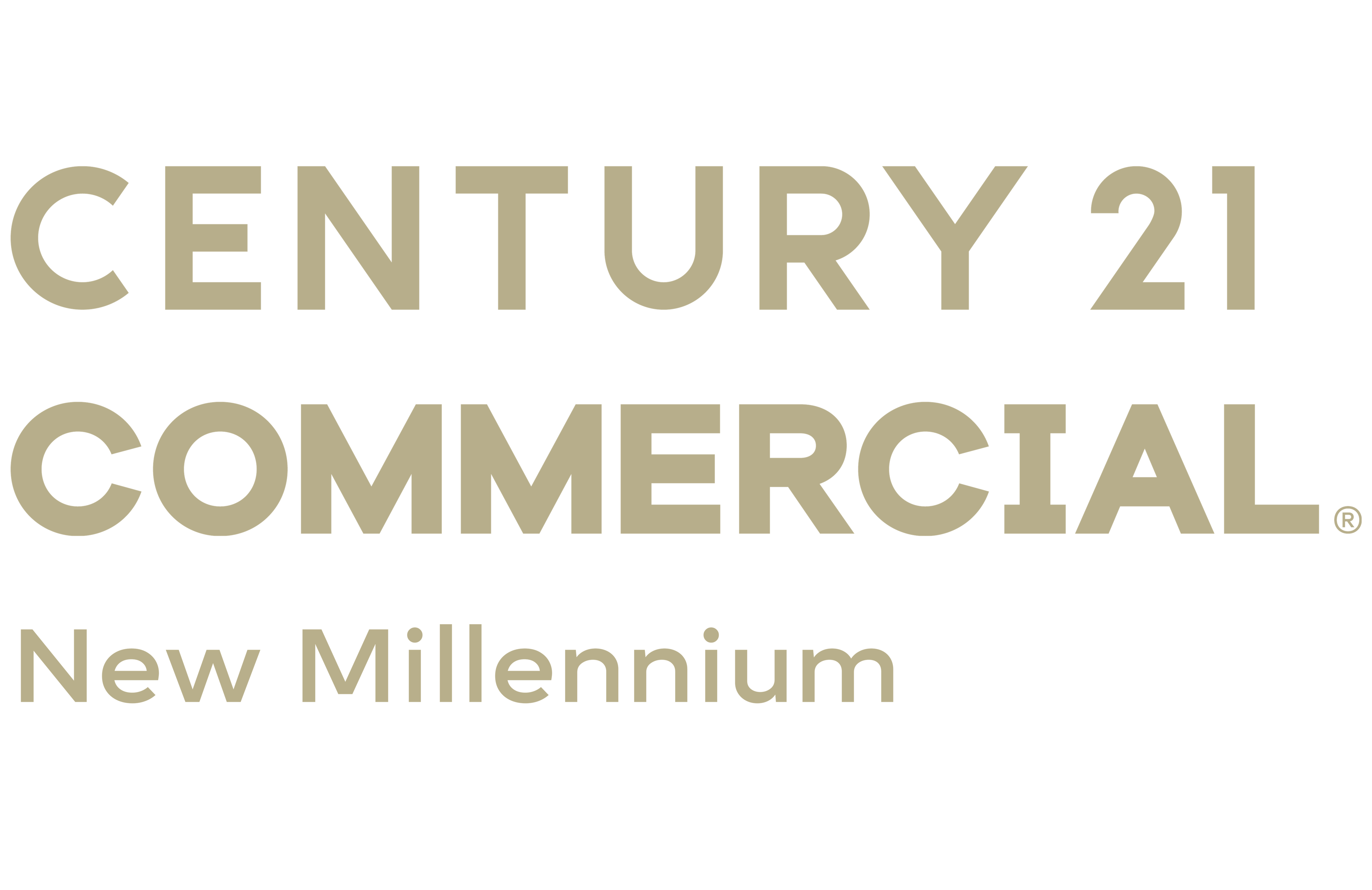 RealMarkets of CENTURY 21 New Millennium logo