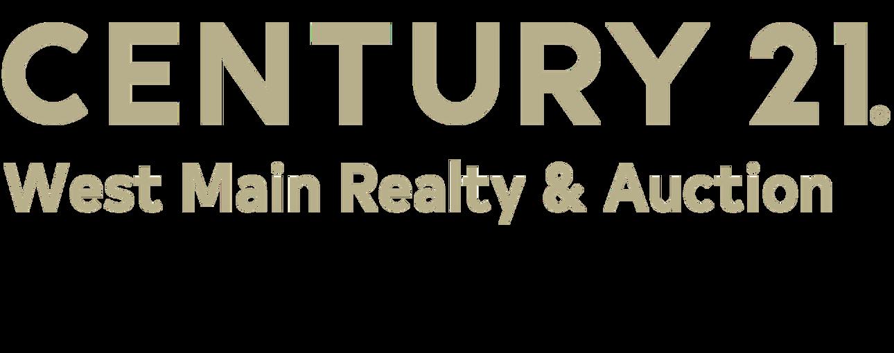 Anita Tate of CENTURY 21 West Main Realty & Auction logo