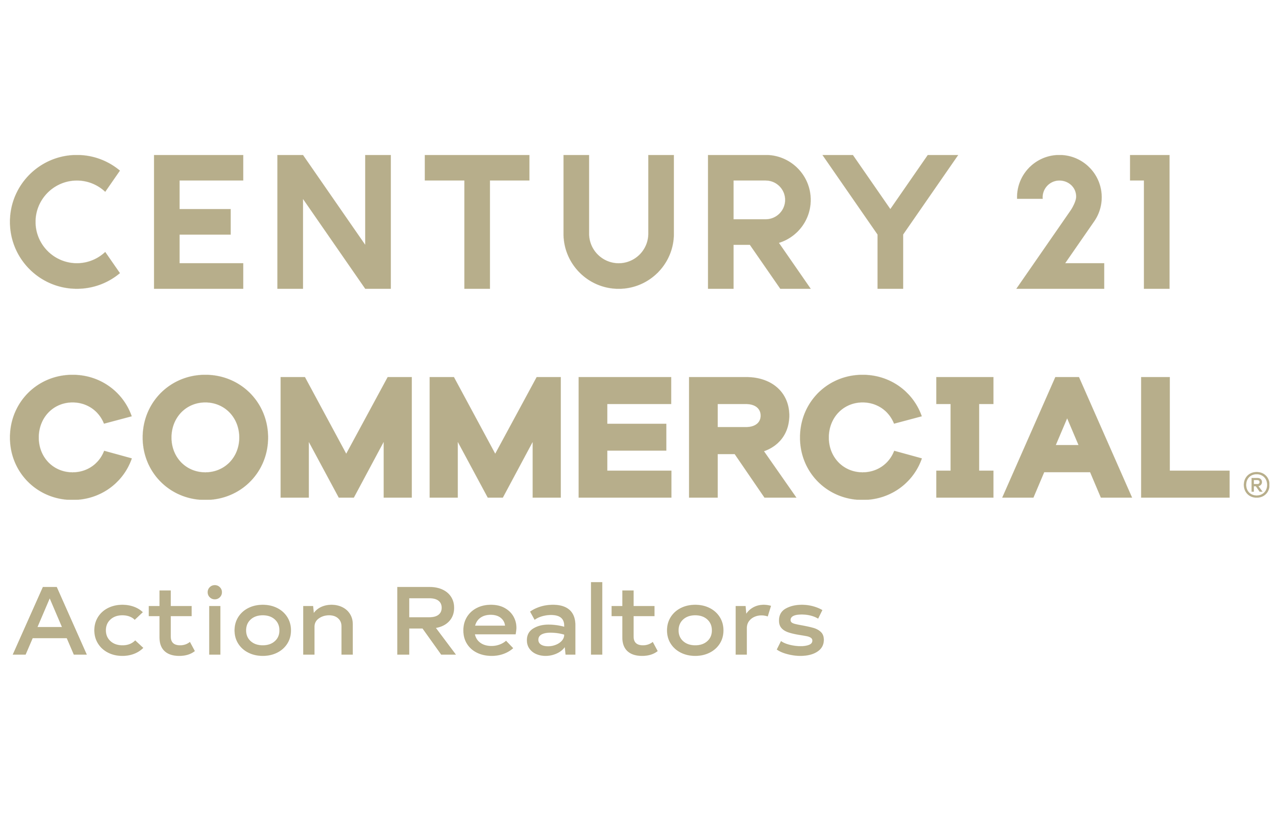 Brad Harrington of CENTURY 21 Action Realtors logo