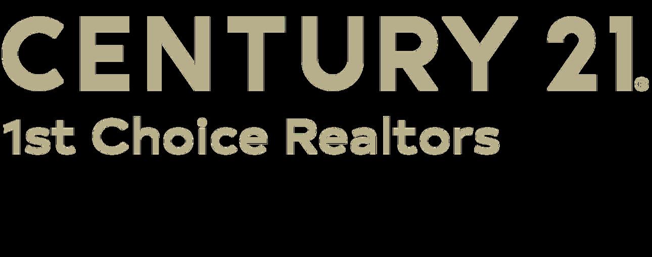 Justin Kennedy of CENTURY 21 1st Choice Realtors logo