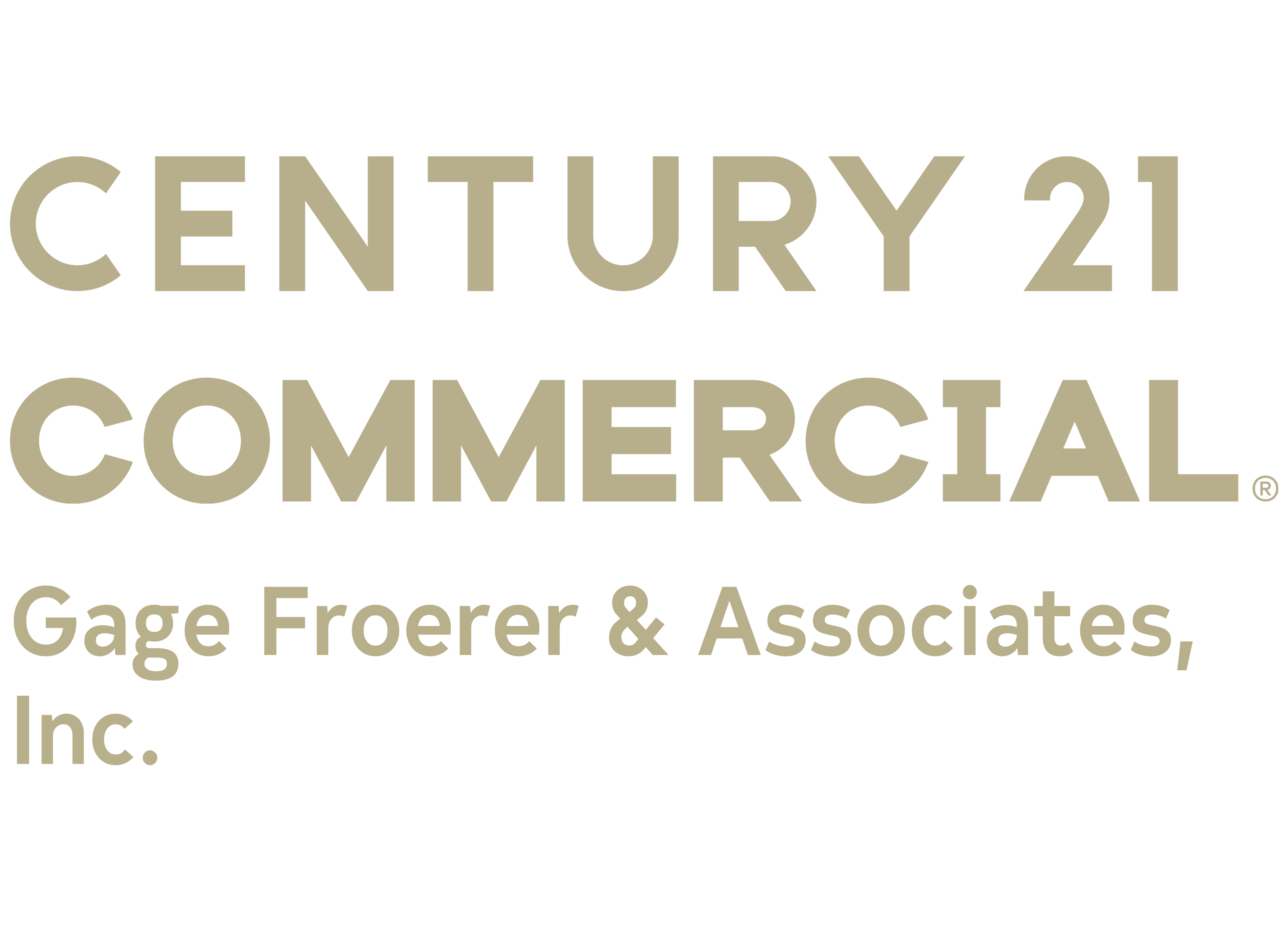 Scot Kelly of CENTURY 21 Gage Froerer & Associates, Inc. logo