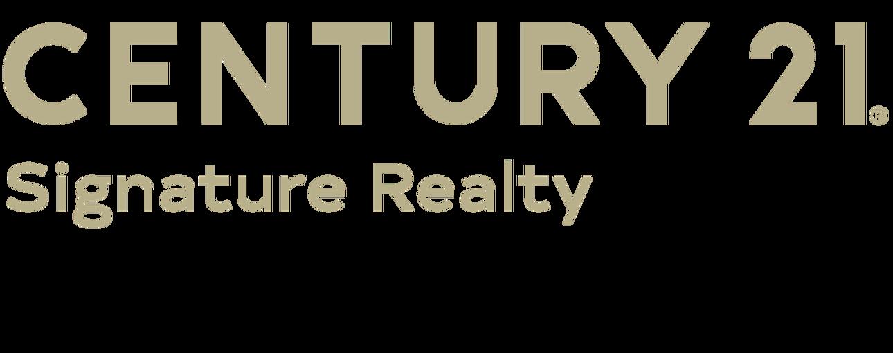 Angie Muehlfeld of CENTURY 21 Signature Realty logo