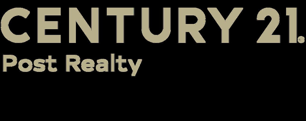 Todd Post of CENTURY 21 Post Realty logo