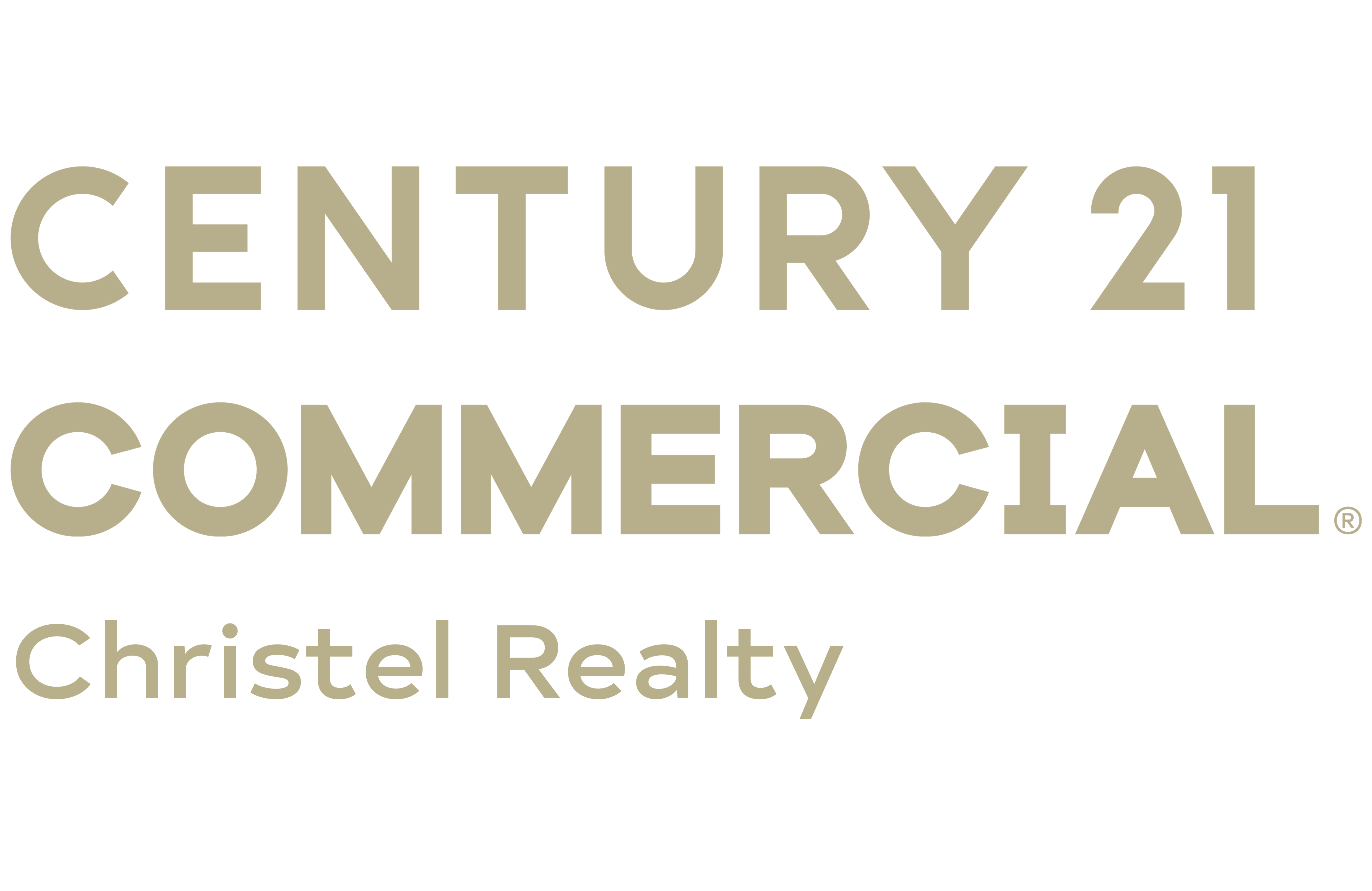 Commercial Team of CENTURY 21 Christel Realty logo
